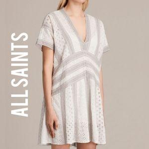 ALL SAINTS Cyndi Tee Dress Size Small